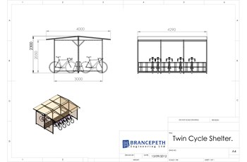 Twin Cycle Shelter